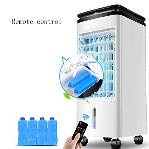 GIUKE Bewegen können Mini klimaanlage,Portable Mini Mobiles klimagerät Für klimaanlage Ventilator Mit 4 lenkrollen Mit dual-filtersystem Luftkühler mit wasserkühlung -B