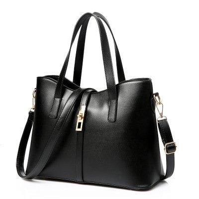 Mefly Nuova Borsa Borsetta Borsa Donna Blu Navy Charming black