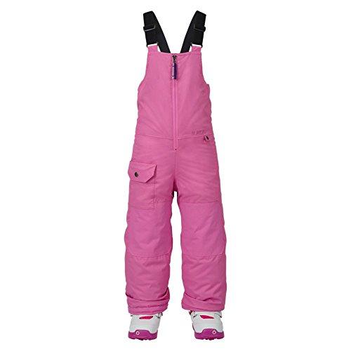Burton Mädchen Minishred Maven Bib Pant Snowboardhose, Super Pink, 4T