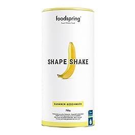 foodspring – Shape Shake alla banana – 750 g – Proteine per raggiungere la tua forma perfetta –67% di proteine del siero del latte