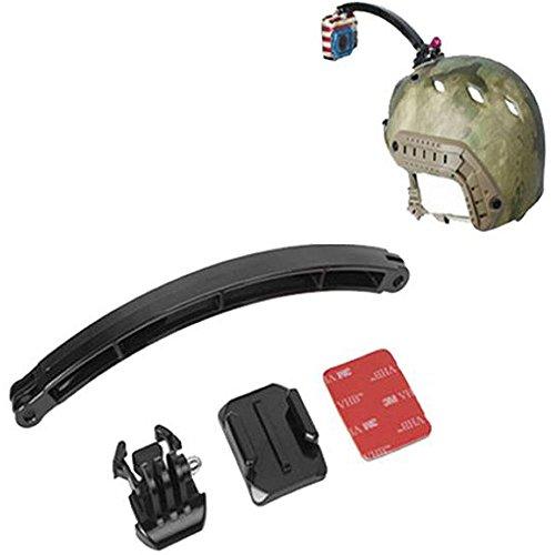 protastic Helm Halterung mit 20cm Verlängerung Arm für Helm Mount von GoPro® HERO/SJCAM Action Kameras