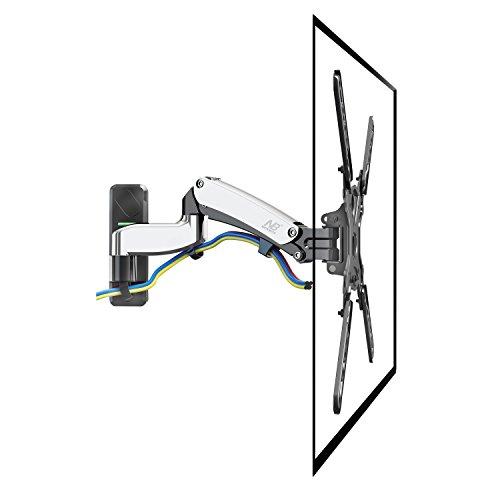 NB F450 Brazo con resorte de gas para pantallas LCD-LED monitores y...