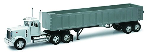 New Ray - 10543 - Véhicule Miniature - Die Cast Camion Benne Peterbilt Model 379
