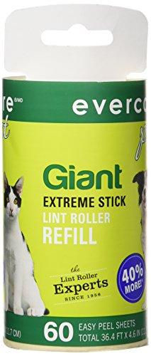 Lint Roller Refill Evercare Pet (Evercare GIANT Fusselroller Refill, 60Blatt, Rolle)