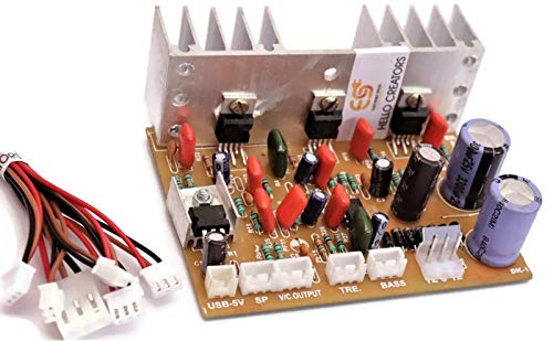 Generic 2.1 Home Theater Amplifier Board 100 Watt with Bass Boost Support TDA2030 Based