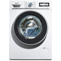 Siemens iQ800 WM14Y54D iSensoric Premium-Waschmaschine / A+++ / 8 kg / 1400 UpM / weiß / VarioPerfect / Nachlegefunktion / Super15