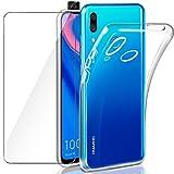 Funda fina y cristal templado Huawei P Smart Z