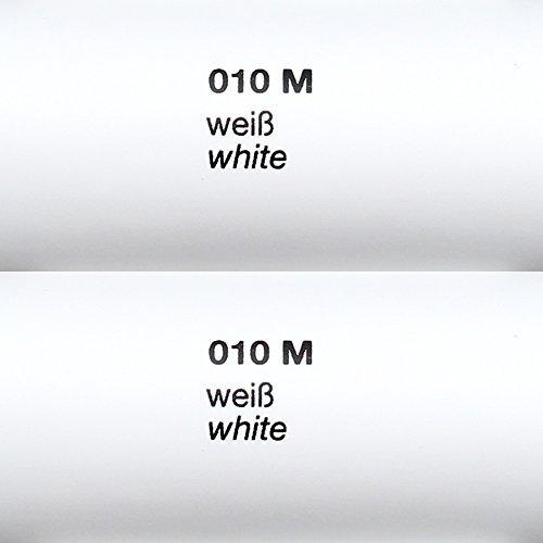 *Rapid Teck® Matt Folie – 010 weiss – Klebefolie – 5m x 63cm – Folie Matt Plotterfolie – Klebefolie selbstklebend – auch als Moebelfolie – Dekofolientage*