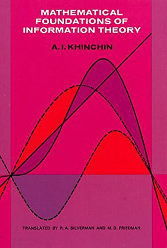 Mathematical Foundations of Information Theory (Dover Books on Mathematics) (English Edition)