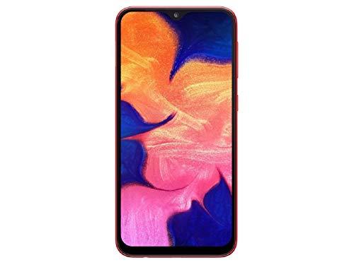 Samsung Galaxy A10 SM-A105FDS 32 GB, Dual SIM, 6,2 Zoll HD + Infinity-V Display, 2 GB RAM, GSM entsperrtes internationales Modell, Keine Garantie, rot (Samsung Galaxy 3 Tmobile Handy)