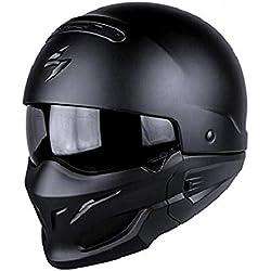 SCORPION Casque Motocorpion EXO COMBAT, Noir, Taille L