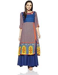 Voguedrift Ropa India paquistaní Kurtis étnicas Kurti Vestido de ...