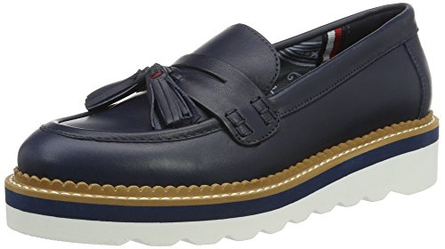 Tommy Hilfiger Damen P1285AULINA 1A Slipper, Blau (Midnight 403), 39 EU