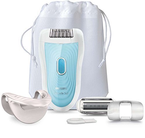 Philips BRE210/00 Satinelle Legs & Arms Advanced Epilator (Blue)