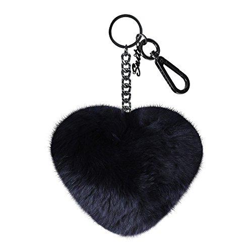 Oakwood Charm Cuore chiave cappotto tasca catena blu scuro