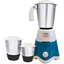 Fisher & Hawk FHMG01 500-Watt Mixer Grinder with 3 Jars (Turquoise)