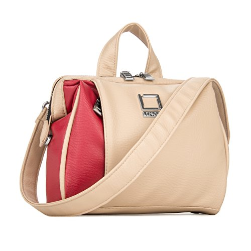 lencca-womens-shoulder-travel-olive-series-top-handle-hand-bag-red-beige