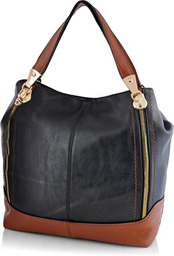Mark & Keith Women Brown Handbag (MBG 031 BK )