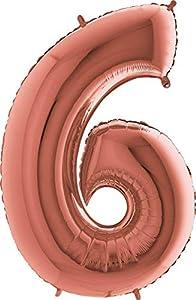Grabo 236RG-P Número 6 Superloon paquete único, longitud 40 pulgadas, color, oro rosa, talla única