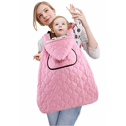 7a8b721278b6 Porte-bébé Echarpe Baby Wrap Transporter Couverture Coupe-vent Avec Manteau  à Capuche Multifonctionnel