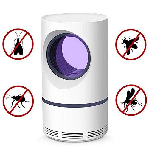 Lámpara USB Repelente Insectos Mosquitos, Control Plagas contra Insectos, Trampa Mosquitos LED Bug Zapper para Interiores, Adecuada para Bebés Embarazadas, Seguras E Inocuas