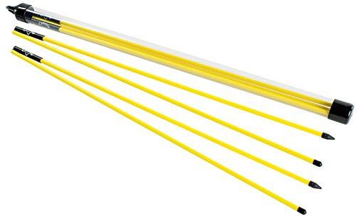 Callaway Alignment Stix Schwunganalysegeräte, Yellow,