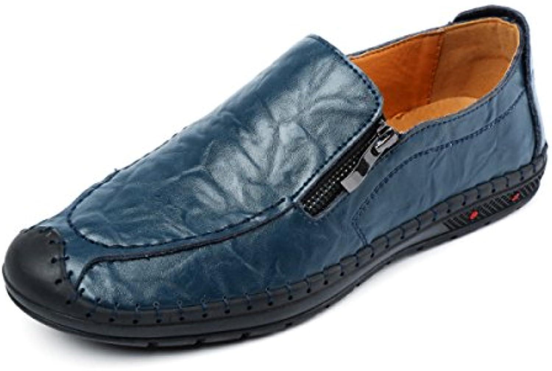 Herbst Und Winter Herrenschuhe England Wild Leder Freizeitschuhe Mode Peas Schuhe
