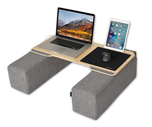 Couchmaster® CYWORK (Ergonomisches Lapdesk für Notebooks oder Wireless Peripherie, inkl. Kissen, geeignet für Couch/Bett)