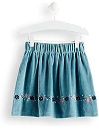 RED WAGON Girl's Velvet A-Line Skirt