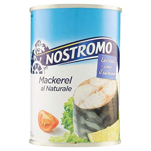 Nostromo Sgombro al Naturale, Lavorato Come il Salmone - 425 gr