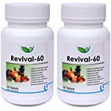 [Sponsored]Biotrex Revival - 60, Multivitamins And Minerals (60 Tablets) - Pack Of 2