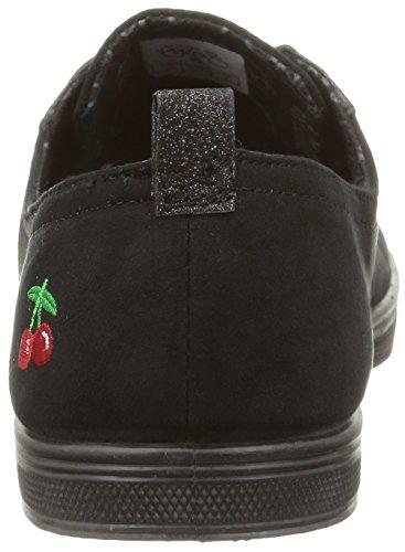 Le Temps Des Cerises - Basic 02 Mono, Sneakers da donna Nero (fancy glitter black)
