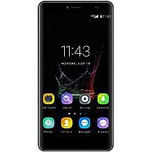 "Bluboo Maya Max - Smartphone Móvil Libre 4G 1280 x720 HD(Pantalla 6.0"", Dual Sim, Octa Core, 3GB de RAM, 32GB de ROM, Cámara 13.0Mp, WIFI, GPS, OTA, Gesto Inteligente)gris"
