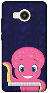 The Racoon Lean Happy Octopus hard plastic printed back case/cover for Vivo X Shot