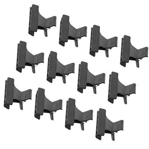 MagiDeal Lot 12x Papillon Pince à Cheveux en Plastique Epingle Clip à Coiffure Accessoire de Coiffage