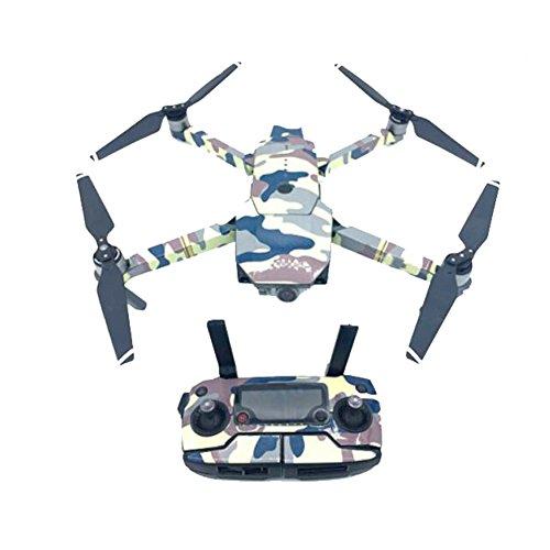 Meijunter PVC Wickeln Colorful Aufkleber DJI Mavic Pro Drone+Kontroller+Batterie