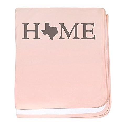 CafePress - Texas Home - Baby Blanket, Super Soft Newborn Swaddle