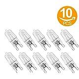 ILOVEDIY Lot de 10 Ampoule Filament G9 40W capsule Halogène 220-240V Blanc Chaud