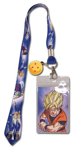 Dragon Ball Z Group Lanyard