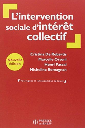 L'intervention sociale d'intérêt collectif: De la personne au territoire