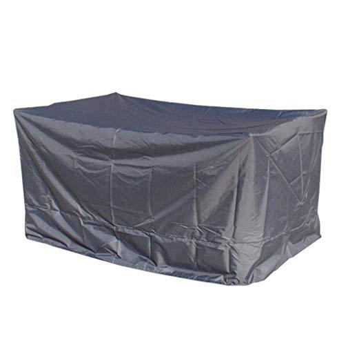 Waterproof Cloth Home Außenzelt Möbelüberdachung schützt klassisches Wind- und staubdichtes 420D Oxford-Tuch (Color : Grey, Size : 220 x 220 x 70cm)
