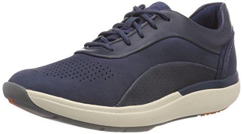Clarks Damen Un Cruise Lace Derbys, Blau (Navy Combi), 38 EU (Schuhe Clarks Slip Für Frauen)