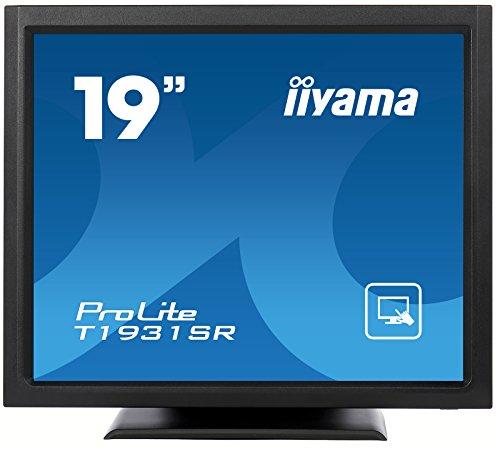 Iiyama ProLite T1931SR-1 19 inch LCD TFT Monitor (900:1, 200cd/m2, Touch Panel, 1280 x 1024, 5ms, DVI-D) - Black