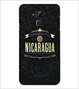 PrintDhaba Coffee Pattern D-5330 Back Case Cover for COOLPAD NOTE 3 LITE (Multi-Coloured)