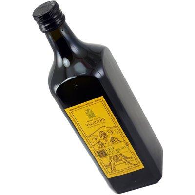 Valentini - olio extra vergine di oliva - 50 cl.- 100% italiano - categoria superiore