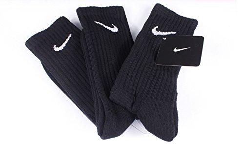 12-Paar-NIKE-Sportsocken-Socken-Gre-XL-46-50-schwarz-Vorteilspack