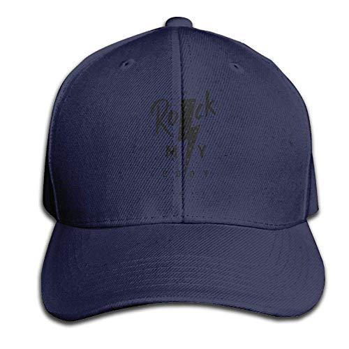 Cleveland Indians Rock (hutaz Unisex Solid Color CapRowing Rock Caps Hats Adjustable)