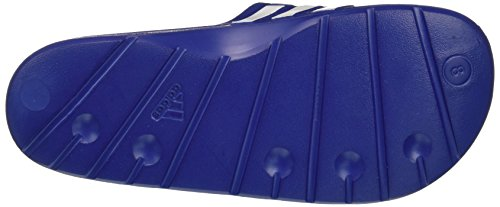 adidas Herren Duramo Slide Dusch-& Badeschuhe Blau (True Blue/White/True Blue)
