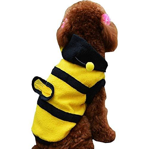 Inception Pro Infinite Kostüm - Verkleidung - Biene - Insekt - Hund (XXL)