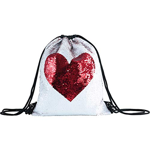 c8f3a9fd80 Sirena paillettes coulisse zaino Glittering Outdoor borsa a tracolla, Magic  reversibile Dance bag Fashion Bling